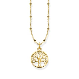 HALSBAND TREE OF LOVE GULD - HALSBAND TREE OF LOVE GULD