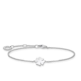 Armband klöverblad silver - Armband klöverblad silver
