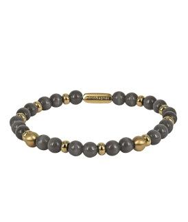 VICKY Armband Grå - Guld