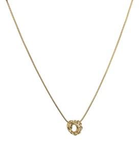 TWIST Mini Halsband - Guld