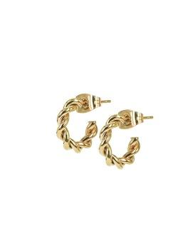TWIST Mini Örhängen - Guld
