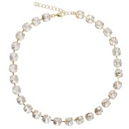 Jackie Necklace / Crystal