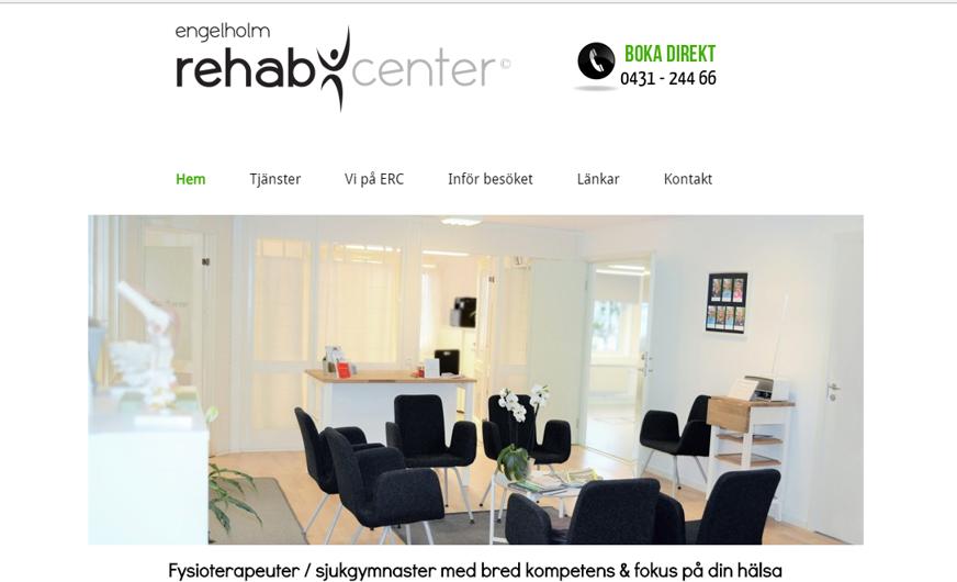 ERC har ny hemsida