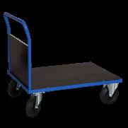 Plattformsvagn 601 med en täckt gavel