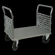 Plattformsvagn 602-ZN med 2 nätgavlar