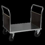 Plattformsvagn 602-Z med 2 täckta gavlar