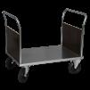 Plattformsvagn 602-Z med 2 täckta gavlar - Plattformsvagn Zinkad 602-8-Z
