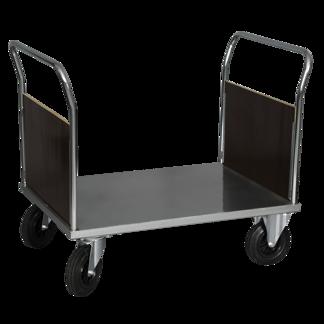 Plattformsvagn 602-Z med 2 täckta gavlar - Plattformsvagn Zinkad 602-7-Z