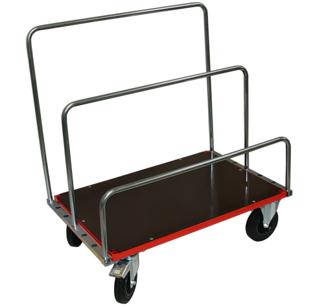 Skivvagn - Skivvagn röd