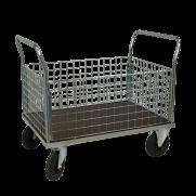Plattformsvagn 603-ZNP med hög nätsarg plywood