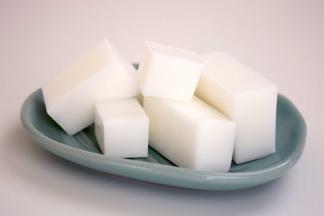 Tvålmassa glycerin vit - Tvvålmassa glycerin vit