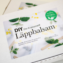 DIY- Kit Läppbalsam, Pepparmynta