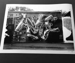 Print Huge 70x50cm - B&W