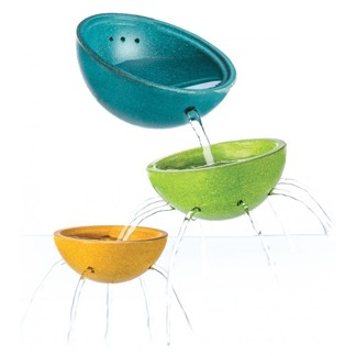 Ekologiska badleksaker, Fountain Bowl Set -