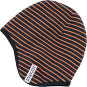 HJälmmössa marinblå/orange