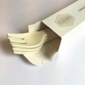 Gafflar i bambu, 4-pack