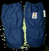 Tumvante med ullfleecefoder, marinblå