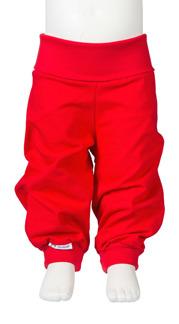Jerseybyxa Baby röd Jny - stl 50