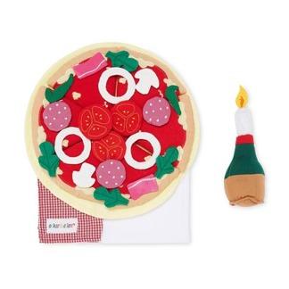 Pizza restaurang set -