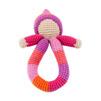 Pixie skallra fairtrade - rosa/orange
