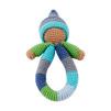 Pixie skallra fairtrade - blå/grön