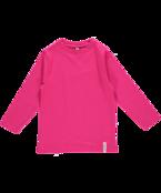 Långärmad tröja cerise, ekologisk