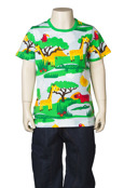 T-shirt Safari, ekologisk