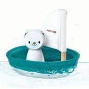 Badleksak Sailing boat Polar bear, ekologisk