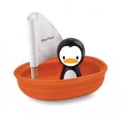 Badleksak sailing boat penguin, ekologisk