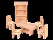 Köksmöbler till dockskåp, ekologisk