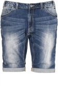 Melbourne Shorts Mid Blue Denim