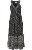 Matisse Dress sand/black