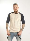 3/4 ärms T-shirt, ekologisk