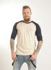 3/4 ärms T-shirt, ekologisk - XL