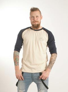 3/4 ärms T-shirt, ekologisk - XS