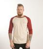 3/4 ärms T- shirt, ekologisk - XL