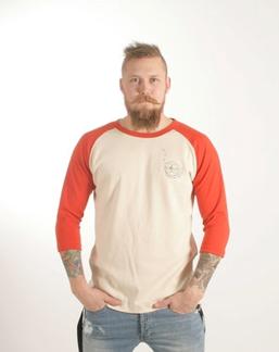3/4 ärms T- shirt, ekologisk - XS