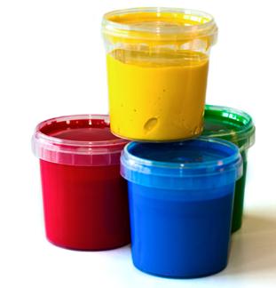 Fingerfärg 4-pack, ekologisk -