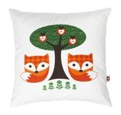 Viola fox cushion (med innerkudde)