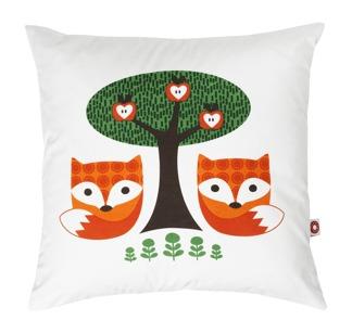 Viola fox cushion (med innerkudde) -