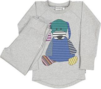 Doddi 2-dels pyjamas - 74/80