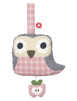 Else owl speldosa - Rosa