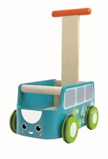 Lära gå vagn, Van Walker - Blå
