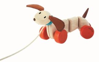 Dragleksak Happy puppy, ekologisk -