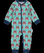 Pyjamas med knappar Truck