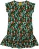 Kortärmad klänning, Duns - 98/104