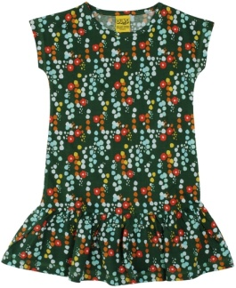 Kortärmad klänning, Duns - 62/68