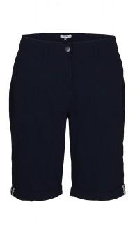 Marinblå shorts - 46