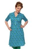 Monica klänning blåsippa