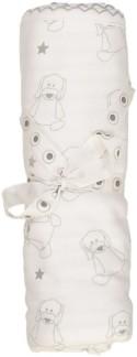 Doddi blanket White/Grey -